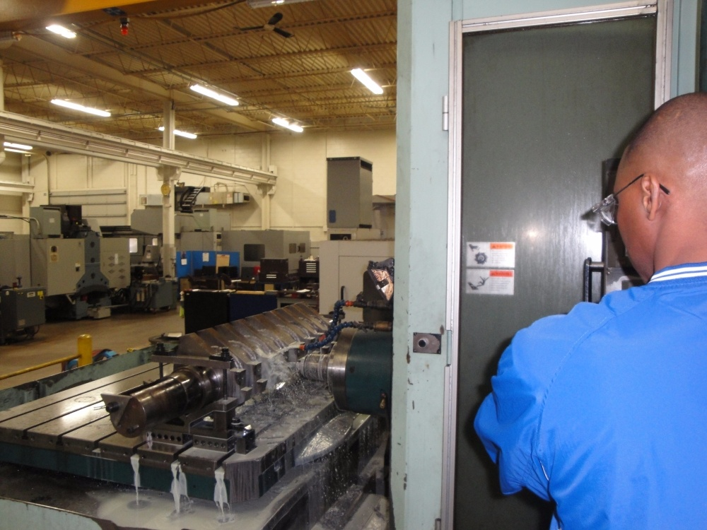 Plastic Shredder Machining Shop Waukesha