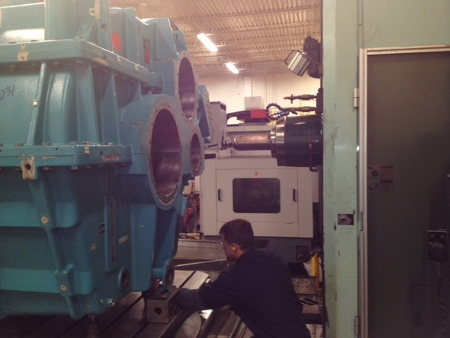Large Wind Equipment Rebuild Wisconsin