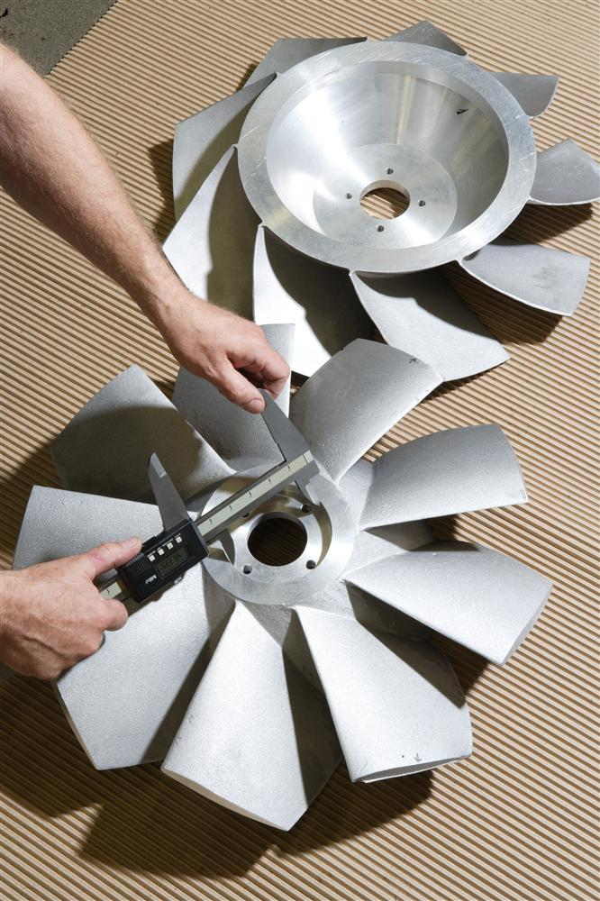 Aluminum Fan Machining Services Milwaukee Wisconsin