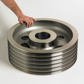Precision Machined Steel Bearing