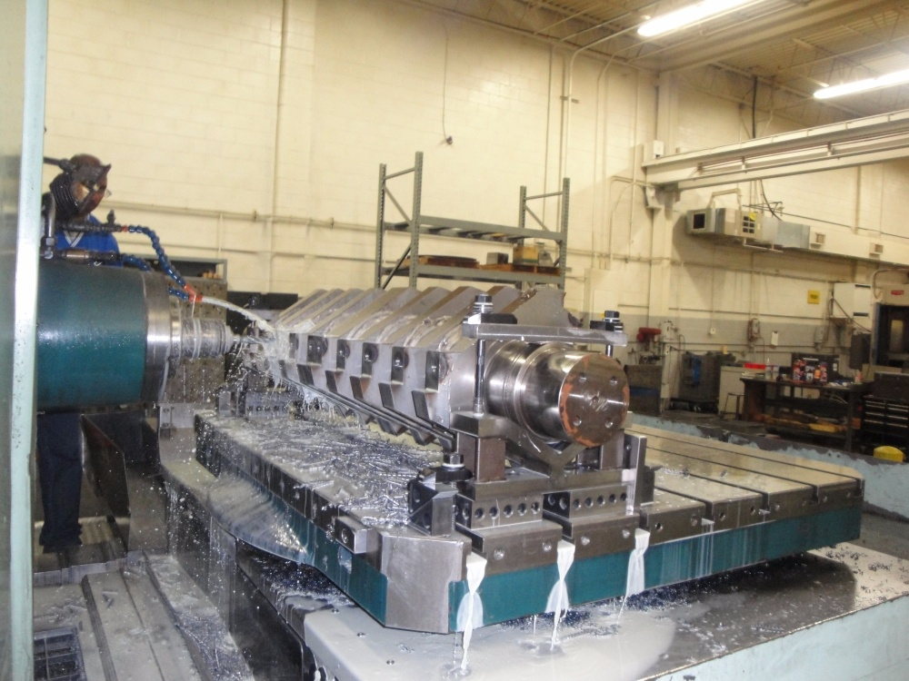 Machining Plastics Shredder Racine