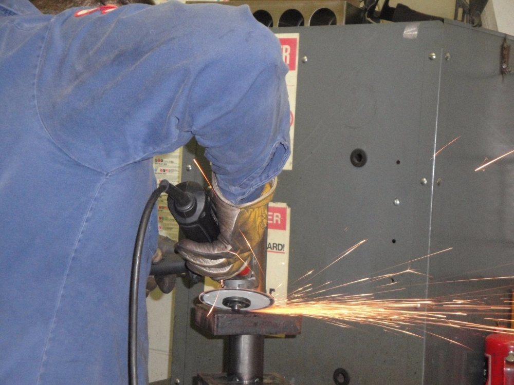 Grinding & Large Metal Fabrication Services Wisconsin