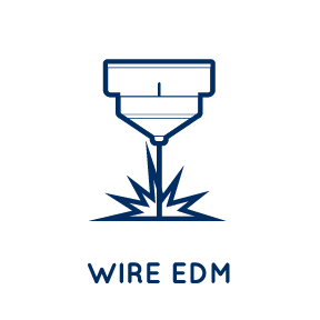 Aerospace Defense Wire EDM Services Wisconsin